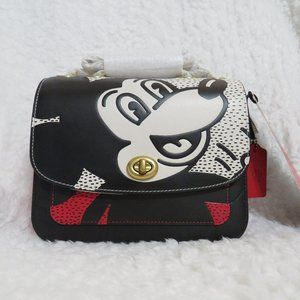 Coach Disney Keith Haring Madison Shoulder Bag